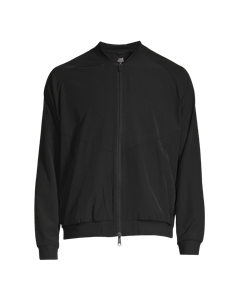 M Cut Bomber Jacket Black