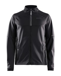 Warm Train Jkt M - Black/transparent Grey