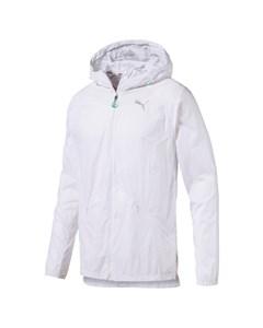 Lightweight Hooded Jacket Puma White