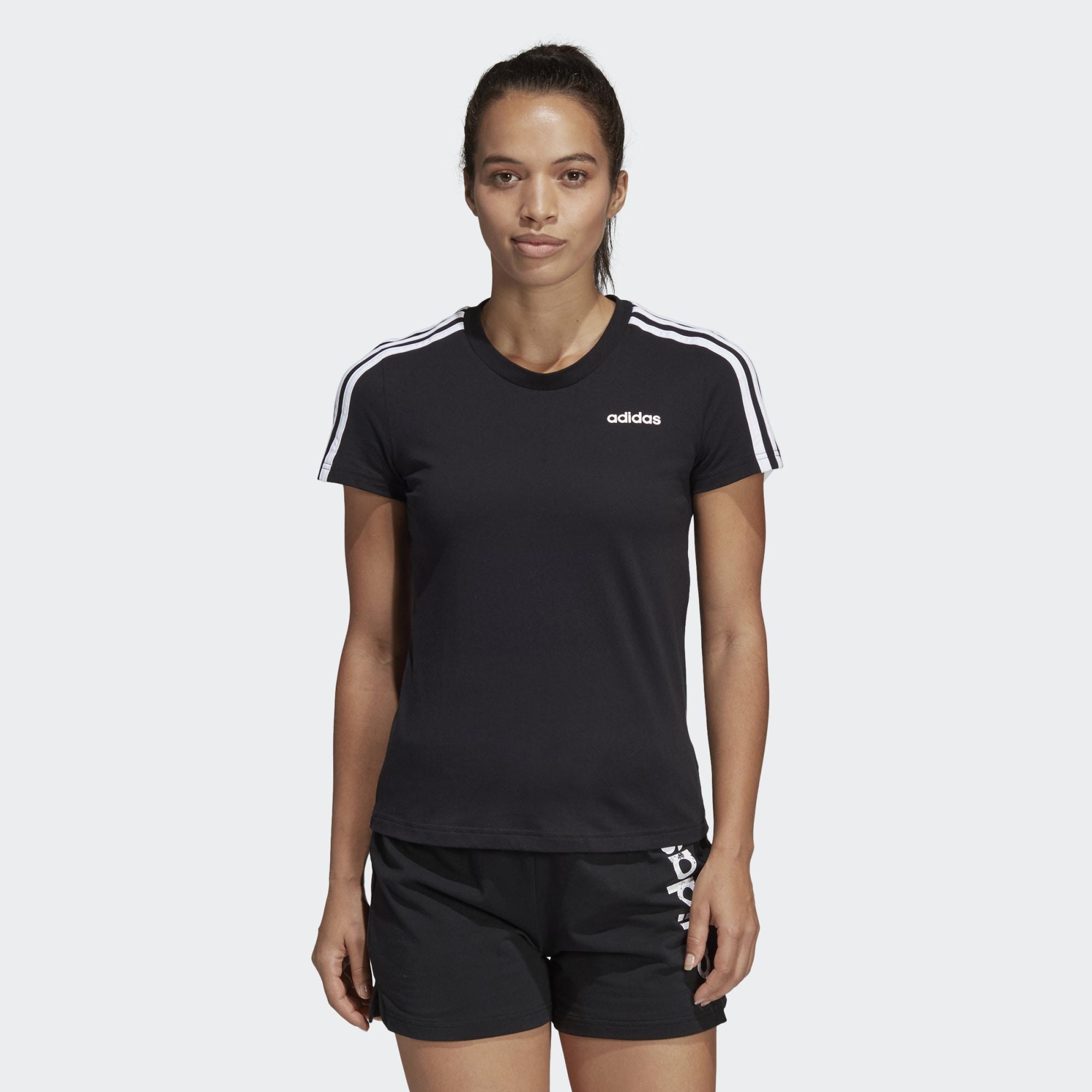 Essentials 3 stripes T shirt bis zu 70 % | AFOUND