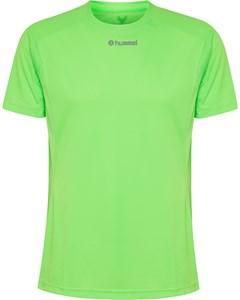 Runner Ss Tee Green Gecko