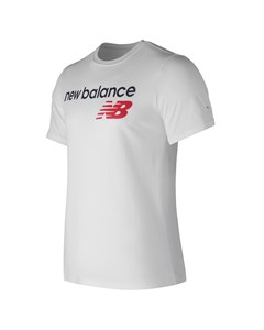 Nb Athletics Main Logo Tee White