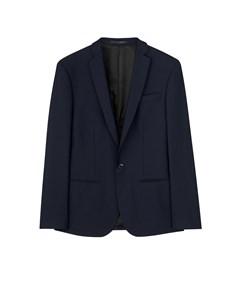 M. Tom Cool Wool Jacket Dk. Navy