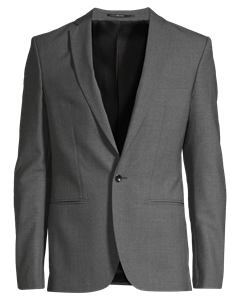 M. Christian Cool Wool Jacket Grey Melange
