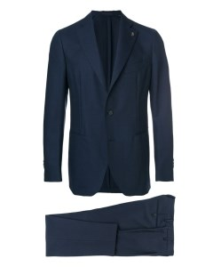 Two Piece Suit  Navy