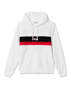 Men Radomir Hoody Bright White-true Red-black