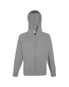 Fruit Of The Loom Mens Lightweight Full Zip Jacket / Hoodie