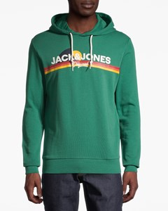 Jorventure Sweat Hood Sts Fir-green