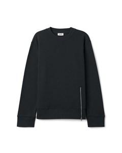 Zipped Sweatshirt Black