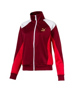 Retro Track Jacket Red