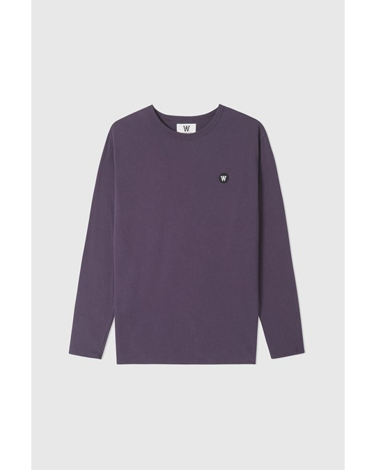 Wood Wood Mel Long Sleeve Dark Purple
