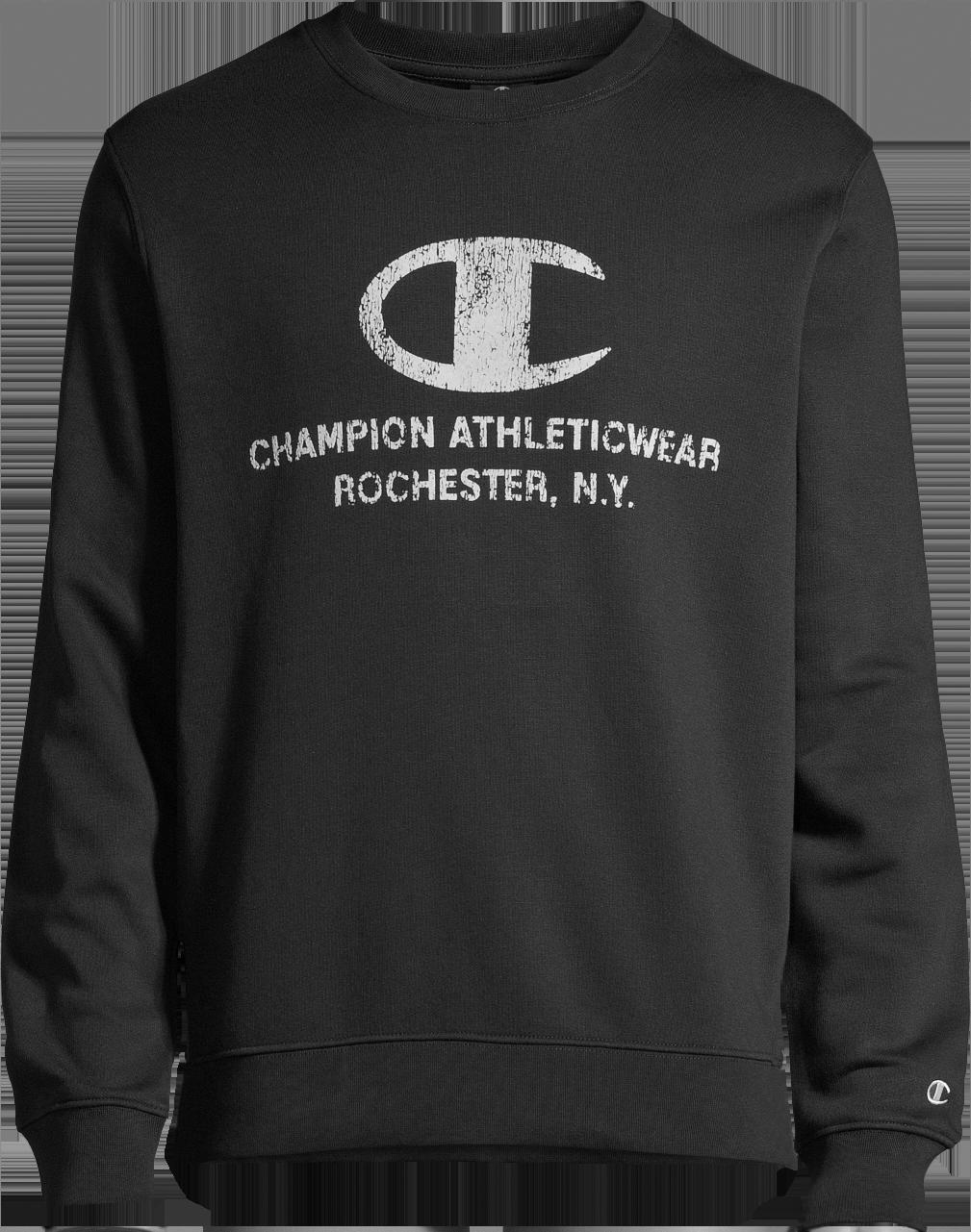 Champion Rochester Satin Logo Sweatshirt Pink