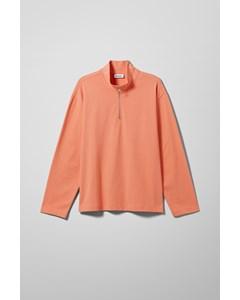 Tobias Half Zip Sweatshirt Orange