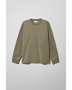 Yanni Washed Long Sleeve Khaki Green