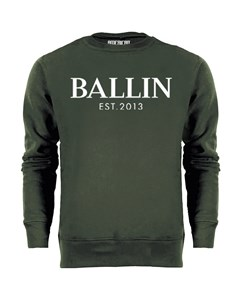 Ballin Est. 2013 Basic Sweater Groen