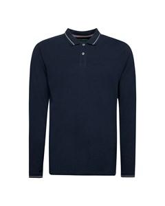 Men's Polo Shirt Long Sleeve, Black