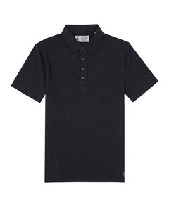 Bing Polo Shirt Dk Charcoal Heather