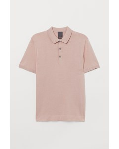 Polo S/s Highline Pink Beige