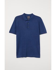 Polo S/s Highline Blue