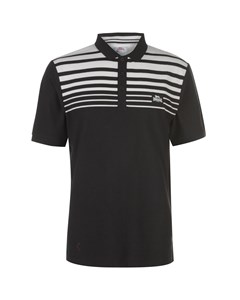 Yarn Dye Stripe Polo Shirt