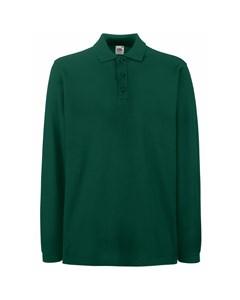 Fruit Of The Loom Mens Premium Long Sleeve Polo Shirt