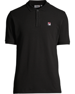 Men Edgar Polo Ss Black