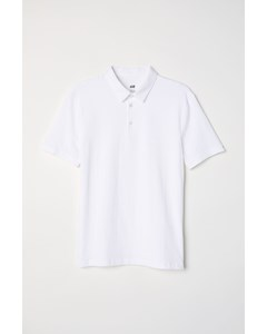 Pet Polo White
