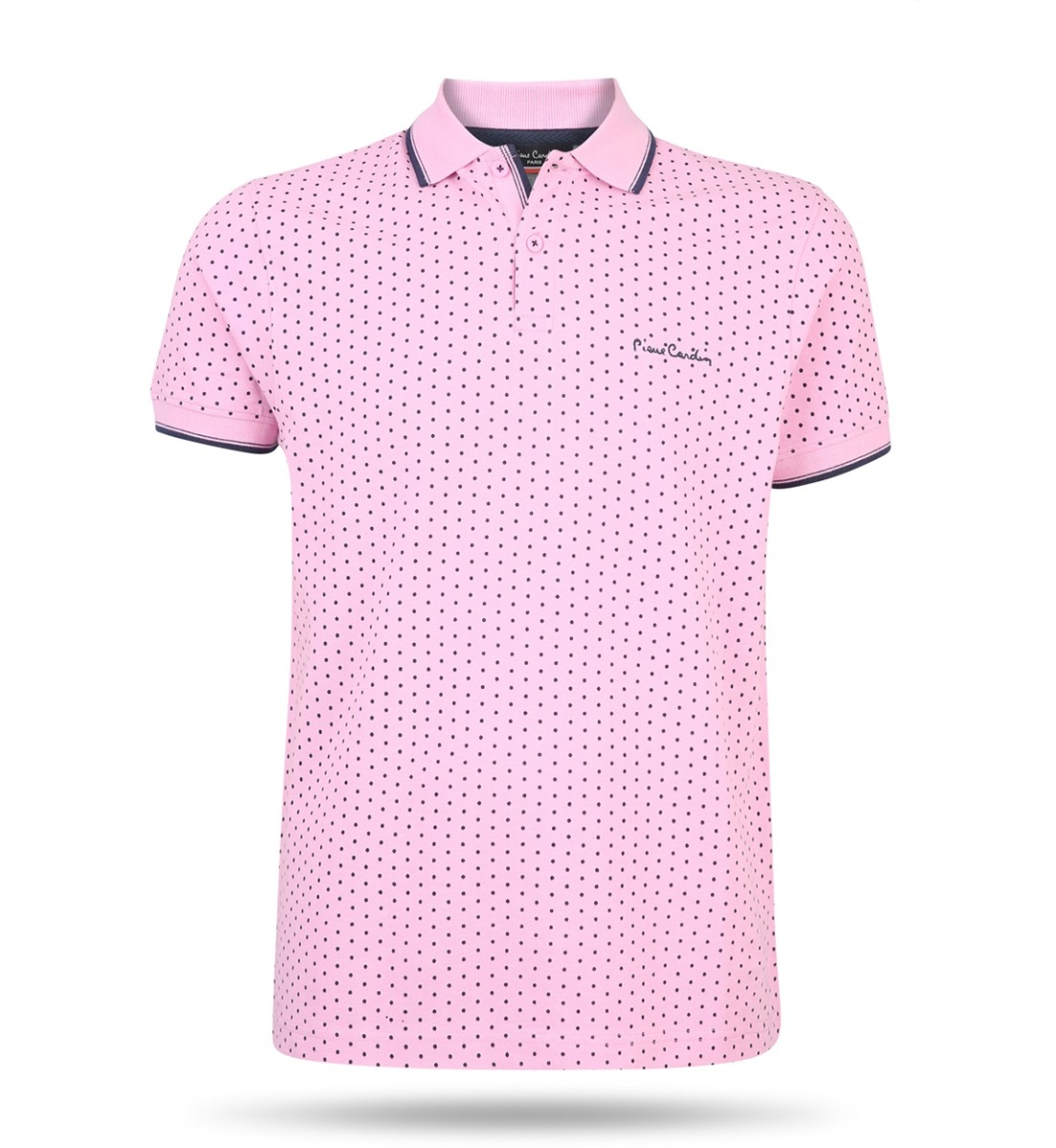 Pierre Cardin Dotted Polo Rosa | Upp till 70% |