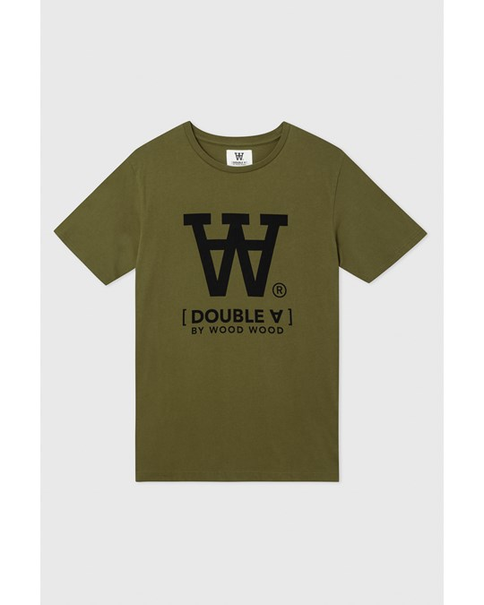 Wood Wood Ace T-shirt Green