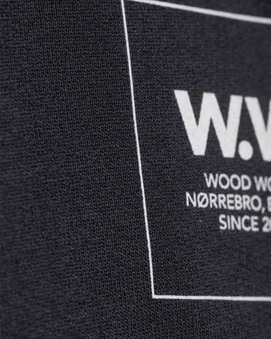 Wood Wood Tyrone L/S Tee Black