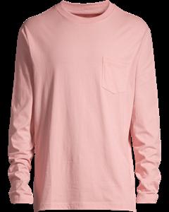 Long-sleeved Top Loose Fit Pink