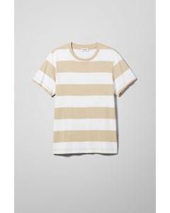 Kennedy Blockstripe T-shirt Beige