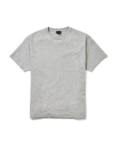 Bedford Crew Neck T-shirt Mid Grey Melange