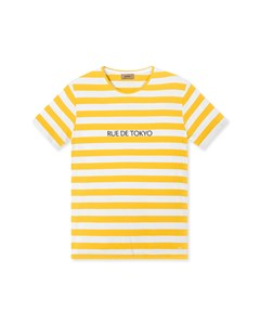 Treves Logo Stripe Yellow