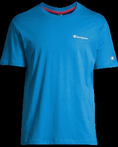 Crewneck T-shirt B Blue Aster