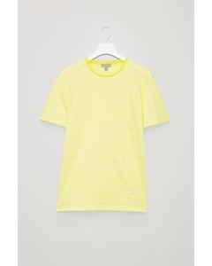 Cl E Steve Stripe Tee Yellow