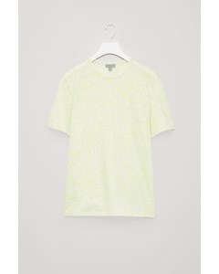 Cl Jamie Square Granite Tee Yellow