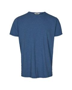 6204150, T-shirt - Fablin Ss Stripe Federal Bl