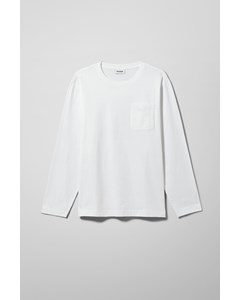Jayden Pocket Longsleeve White