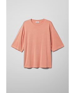 Noah Overdyed T-shirt Orange