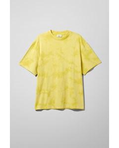 Great Tie Dye T-shirt Yellow