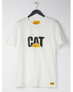 Classic Cat Tee  White