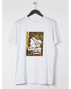 Aw17 Steven T-shirt W.print - White