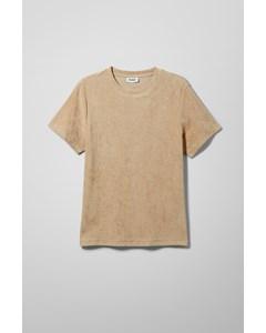 Towel T-shirt Light Beige