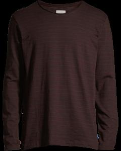 Men's T-shirt Long Sleeve, Plum Red