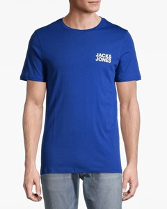 Jjecorp Logo Tee Ss O-neck  Noos Surf The Web-blue