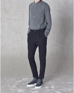 Isaacson Trousers Dark Navy