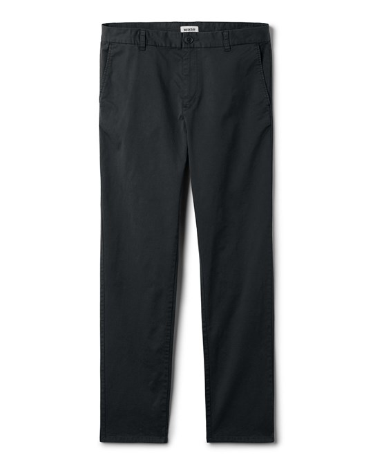 Weekday Dyed Chinos Black