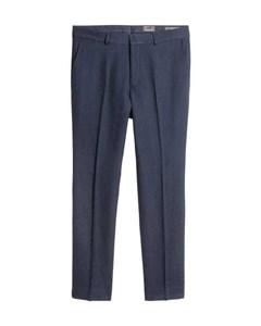 Suit Trousers Slim Fit Blue
