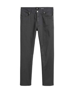 Twill Trousers Slim Fit Grey